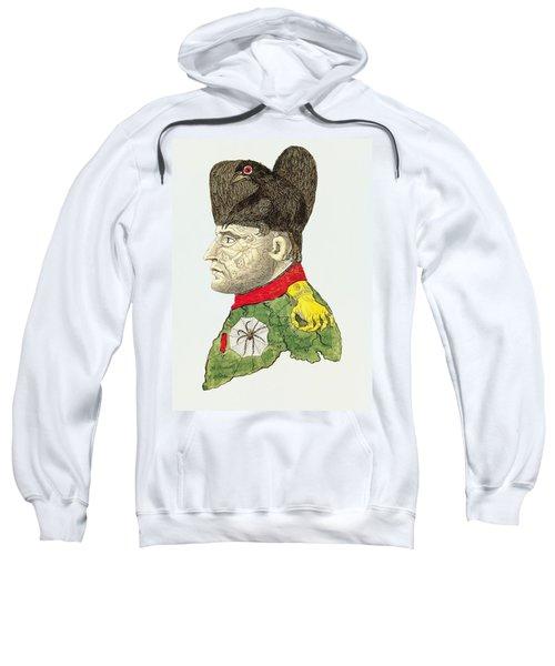 Caricature Of Napoleon Bonaparte Sweatshirt
