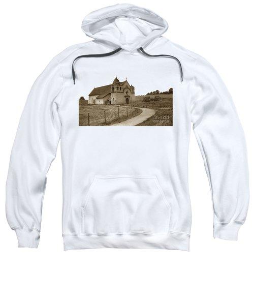 Carmel Mission Monterey Co. California Circa 1890 Sweatshirt