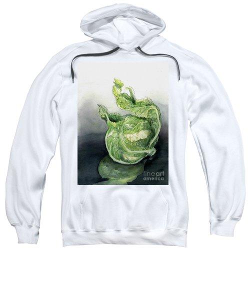 Cauliflower In Reflection Sweatshirt by Maria Hunt