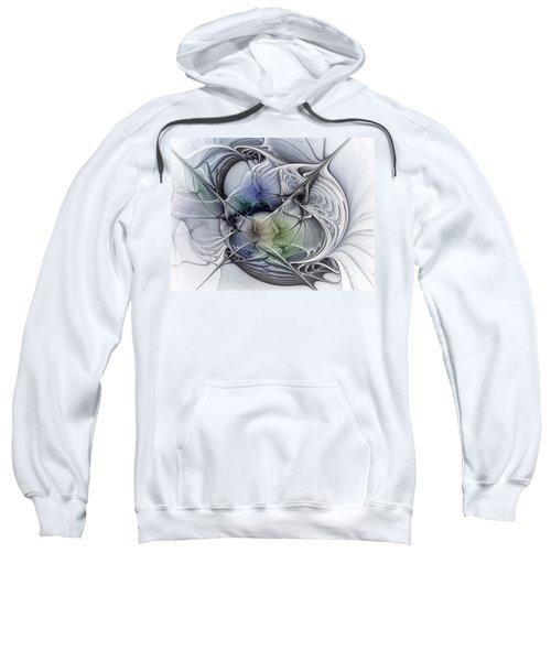 Celestial Sphere Abstract Art Sweatshirt