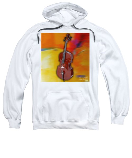 Cello Painting Sweatshirt by Marvin Blaine