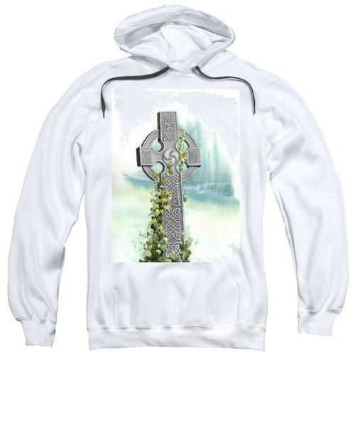 Celtic Cross With Ivy II Sweatshirt