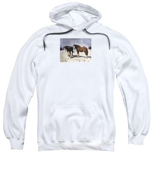 Chance Of Flurries Sweatshirt