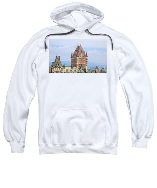 Chateau Frontenac Quebec City Canada Sweatshirt