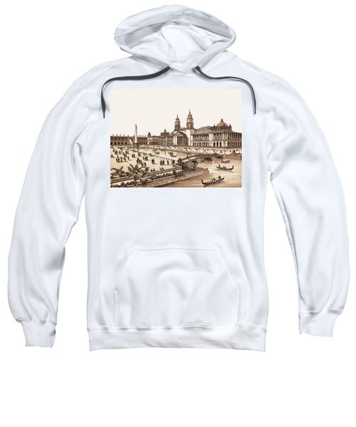Chicago - World's Columbian Exposition 1893 - Palace Of Fine Arts Sweatshirt