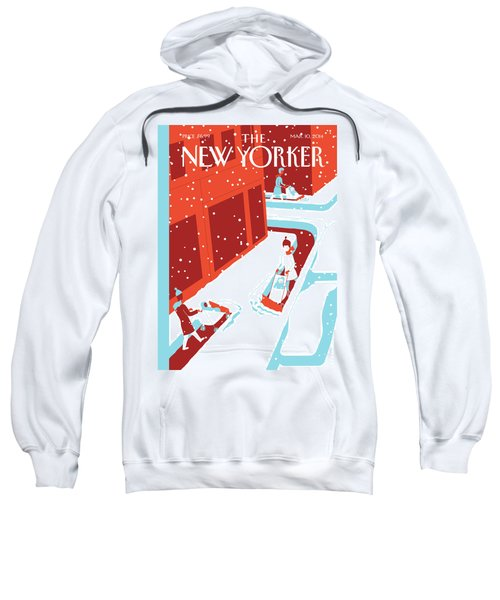 Snowplows Sweatshirt