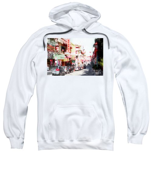 Chinatown Gate On Grant Avenue In San Francisco 7d7175wcstyle Sweatshirt