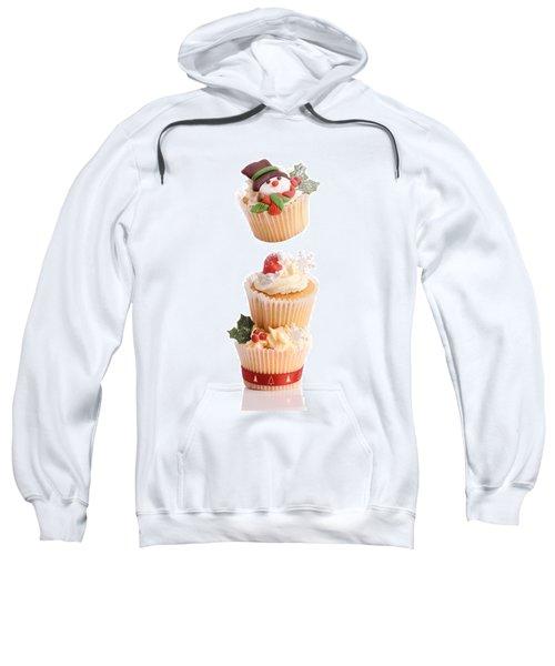Christmas Cupcake Tower Sweatshirt