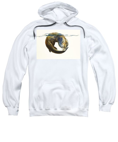 Circle Of Life Sweatshirt by Mark Adlington