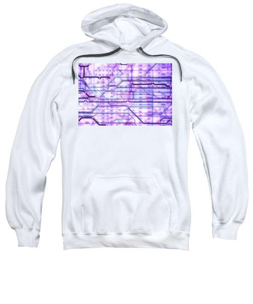 Circuit Trace Sweatshirt