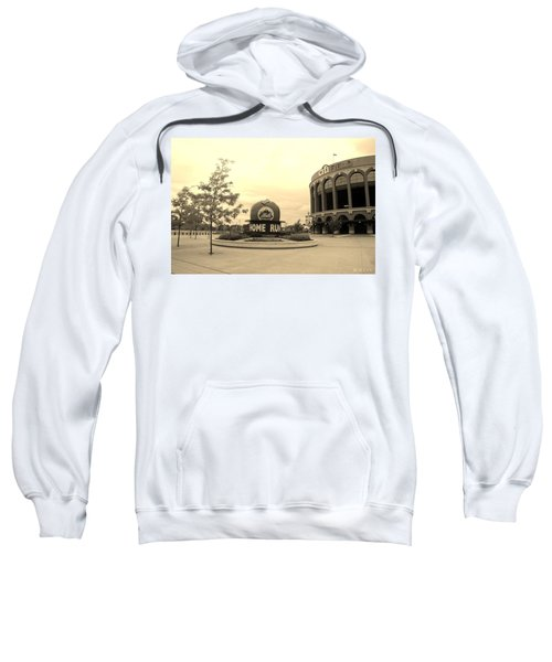 Citi Field In Sepia Sweatshirt