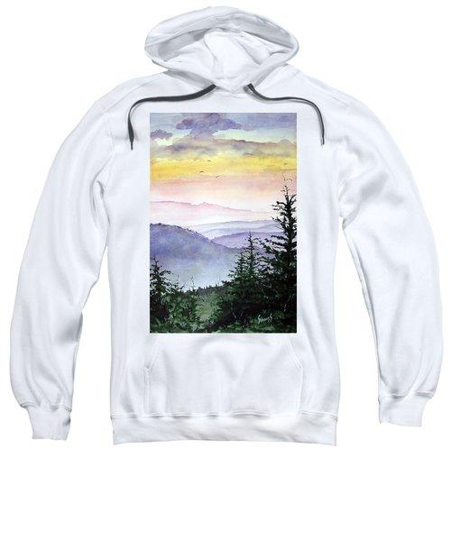 Clear Mountain Morning II Sweatshirt