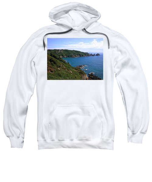 Cliffs On Isle Of Guernsey Sweatshirt