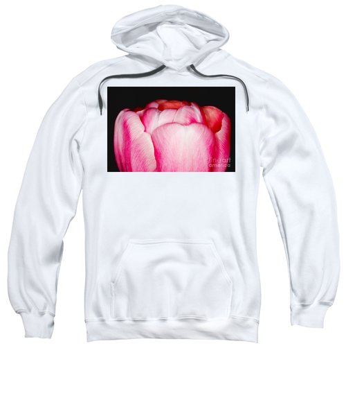 Close-up Of A Pink Tulip Sweatshirt