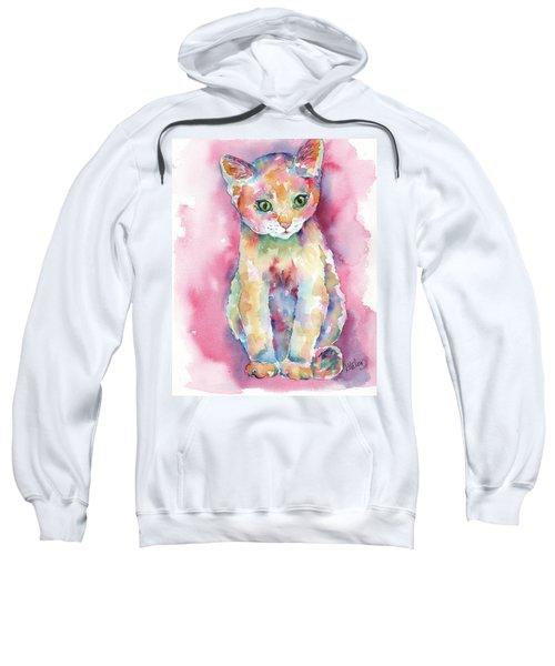 Colorful Kitten Sweatshirt