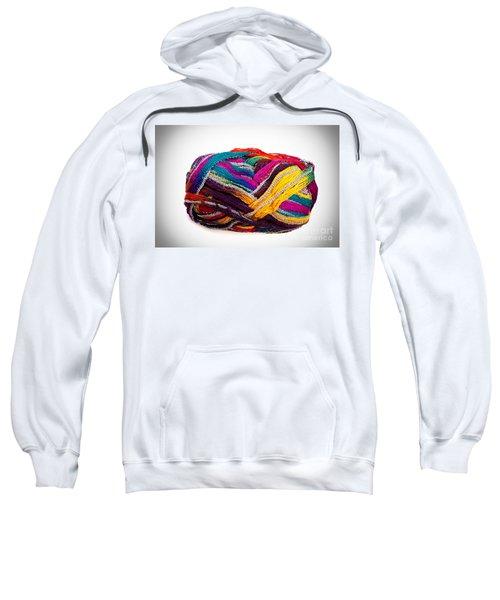 Colorful Yarn Sweatshirt