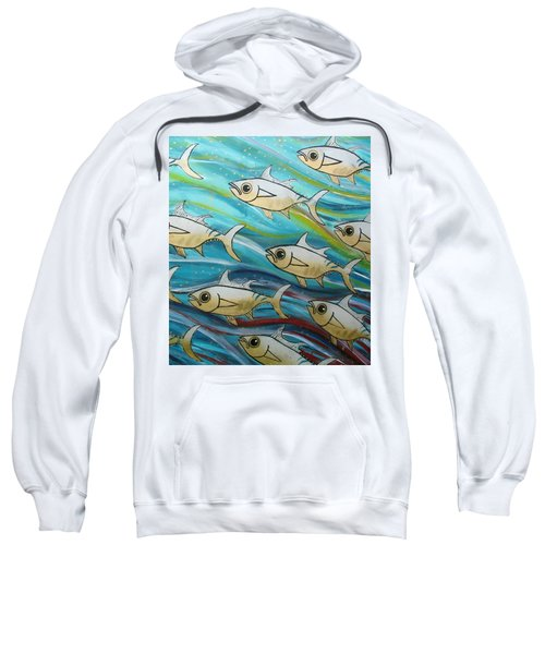 Coloured Water Fish Sweatshirt