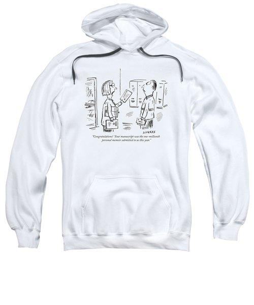 Congratulations!  Your Manuscript Sweatshirt