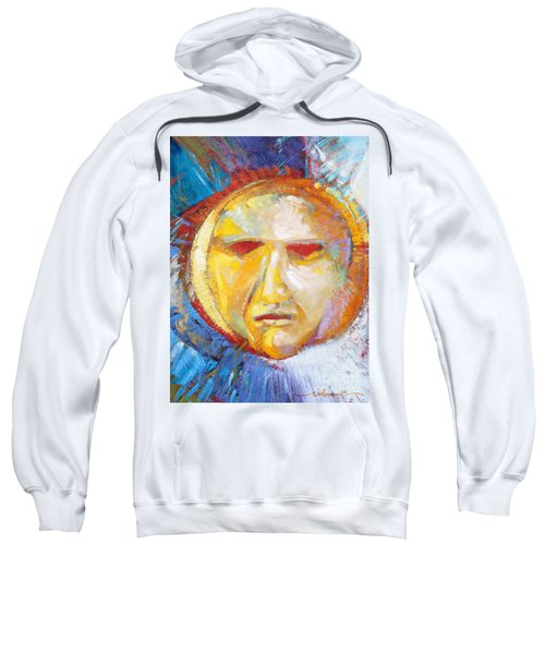 Contemplating The Sun Sweatshirt
