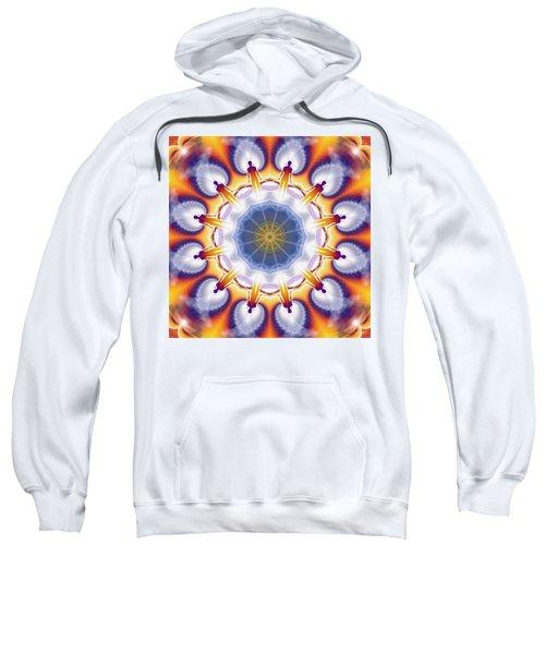 Cosmic Spiral Kaleidoscope 34 Sweatshirt