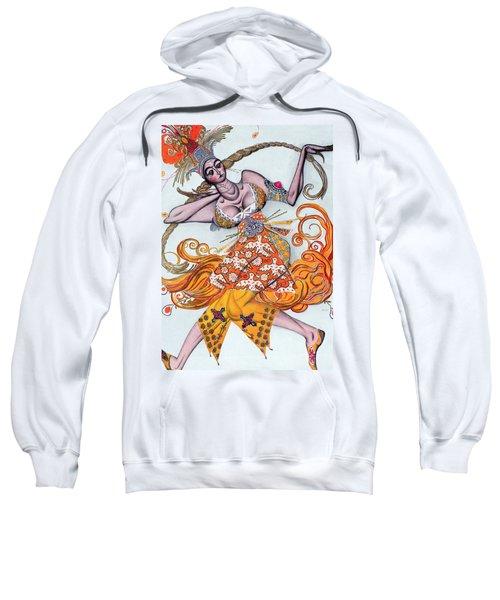 Costume Design For A Pas De Deux Danced Sweatshirt