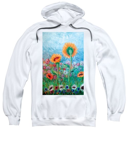 Courting Sunflowers Sweatshirt
