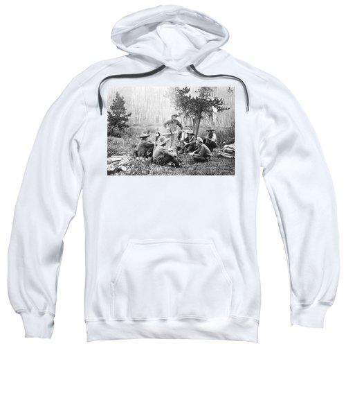 Cowboys Around A Campfire Sweatshirt