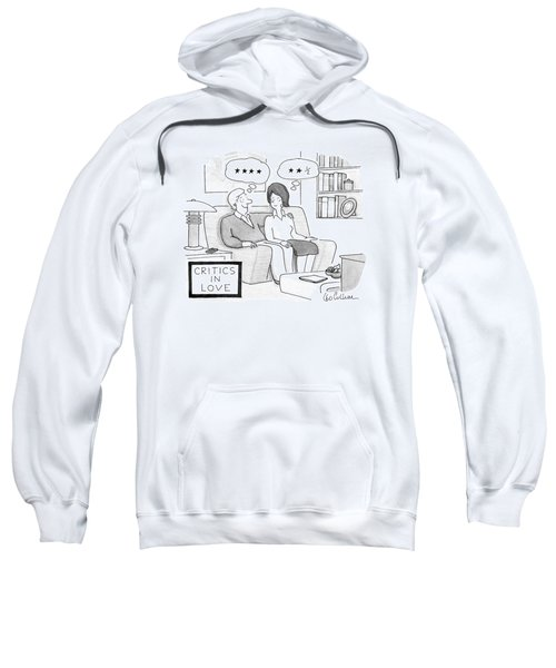 Critics In Love Sweatshirt