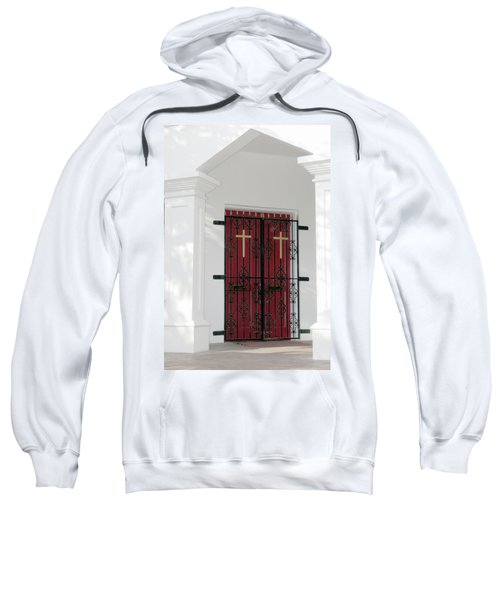Key West Church Doors Sweatshirt