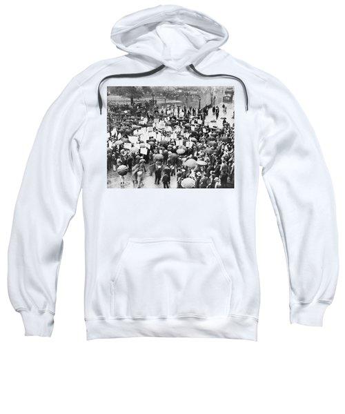Crowd Protests Bank Failure Sweatshirt