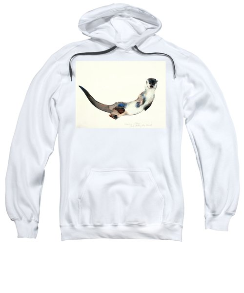 Curious Otter Sweatshirt by Mark Adlington