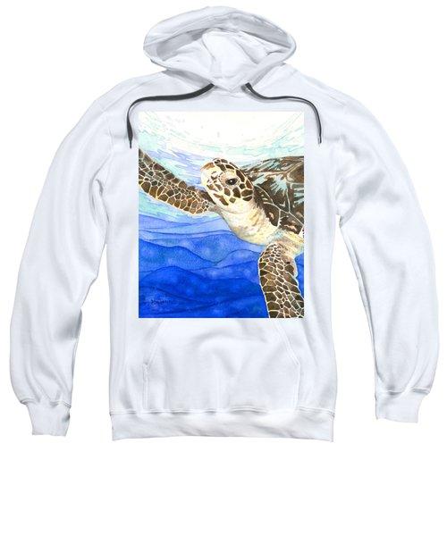 Curious Sea Turtle Sweatshirt
