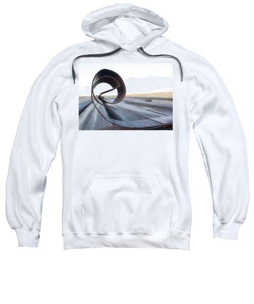 Curled Steel Sweatshirt