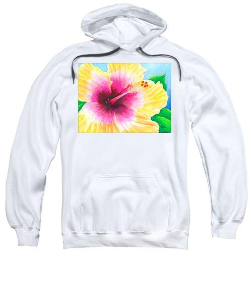 Dan's Hibiscus Sweatshirt