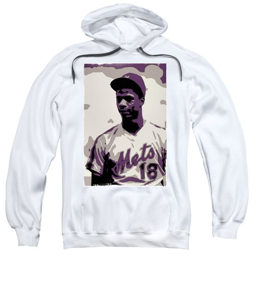 Darryl Strawberry Poster Art Sweatshirt