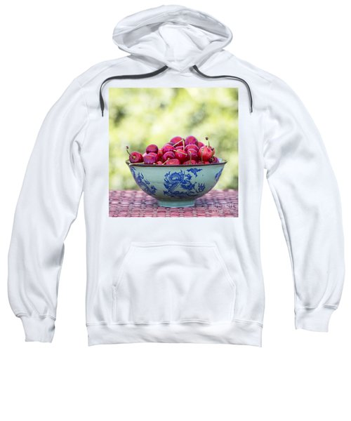 Sweatshirt featuring the photograph Delicious by Linda Lees