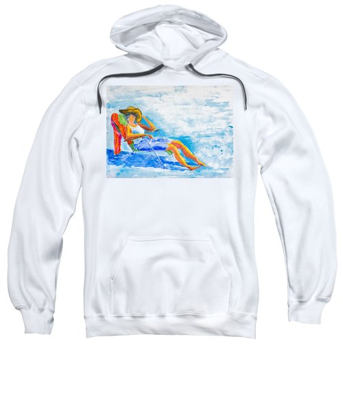 Dena At The Beach Sweatshirt