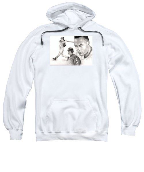 Derek Jeter Sweatshirt by Kathleen Kelly Thompson