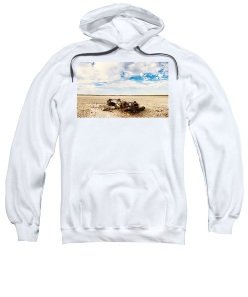 Desolate Desert Wasteland. Deception Bay Sweatshirt