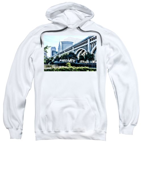 Detroit-superior Bridge - Cleveland Ohio - 1 Sweatshirt