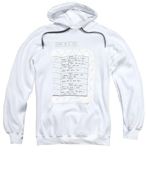 Diary Of A Cat: Sweatshirt