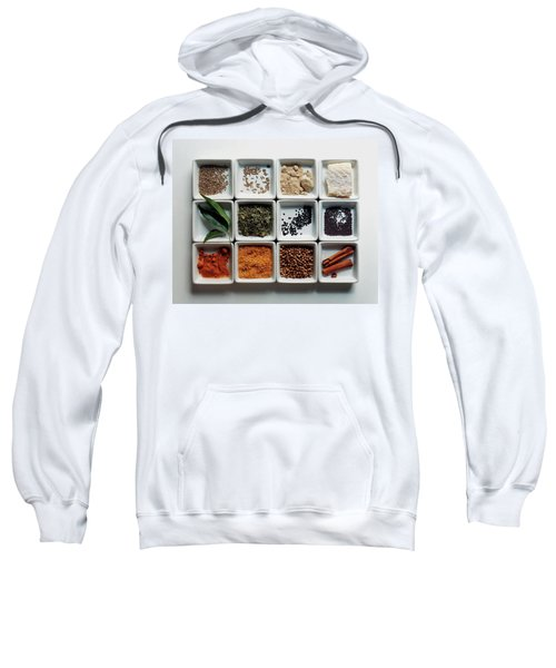 Dishes Of Spices Sweatshirt