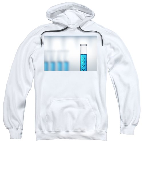 Dna Research Or Testing In A Laboratory Sweatshirt