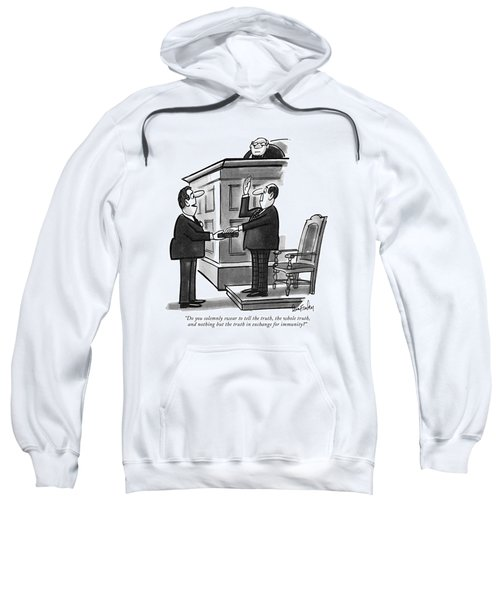 Do You Solemnly Swear To Tell The Truth Sweatshirt