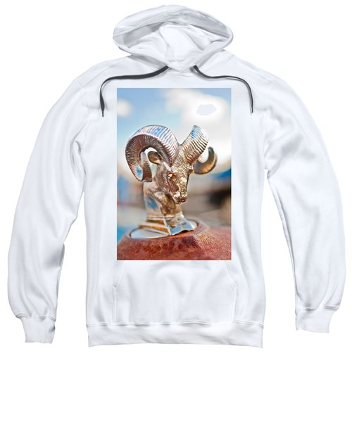 Dodge Ram Hood Ornament 3 Sweatshirt