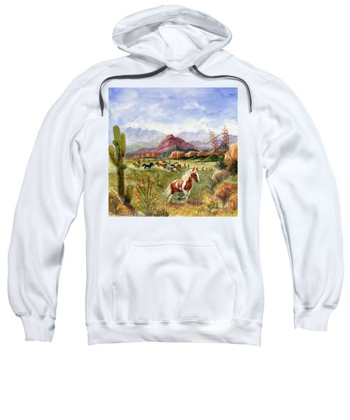 Don't Fence Me In Part One Sweatshirt