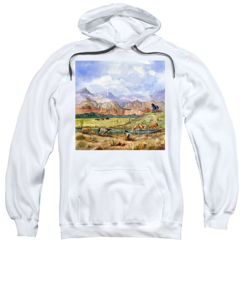 Don't Fence Me In Part Three Sweatshirt