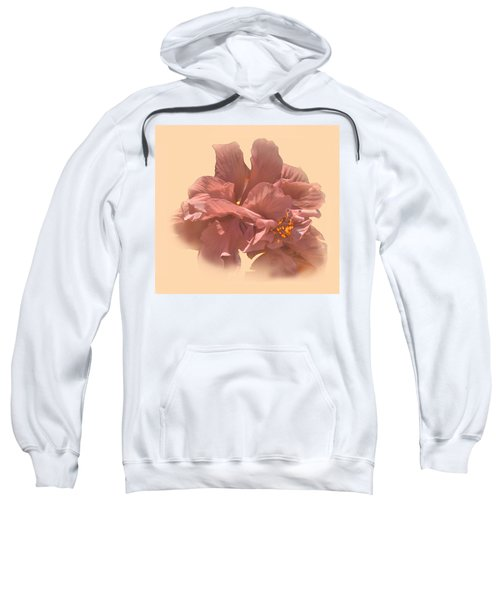 Double Hibiscus Portrait Sweatshirt