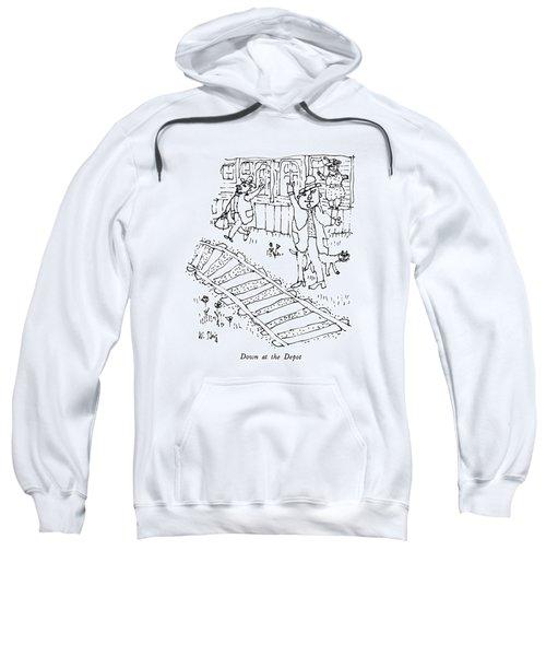 Down At The Depot Sweatshirt