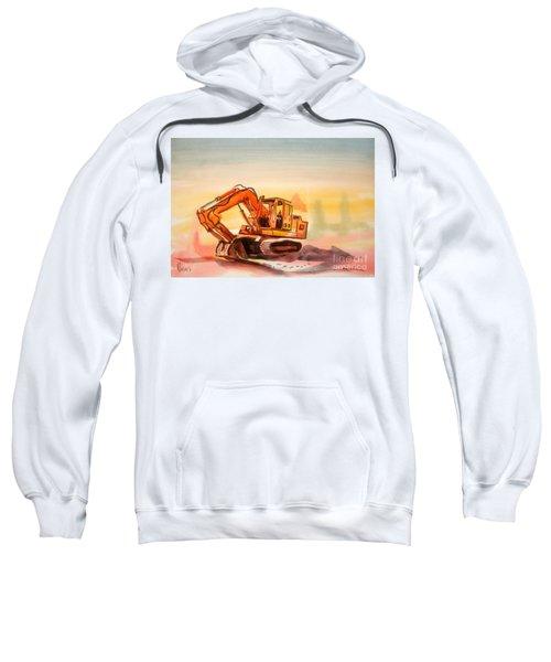 Dozer In Watercolor  Sweatshirt